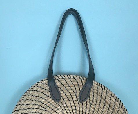 bag making class, DIY rattan bag tutorial