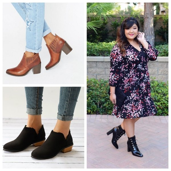 Autumn Style Ankle Boots