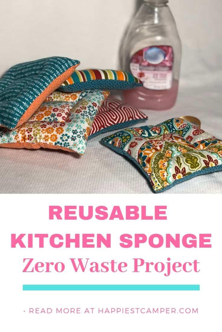 Happiest Camper reusable kitchen sponge