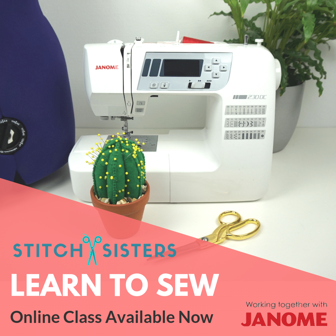 learn-to-sew sewing-machine