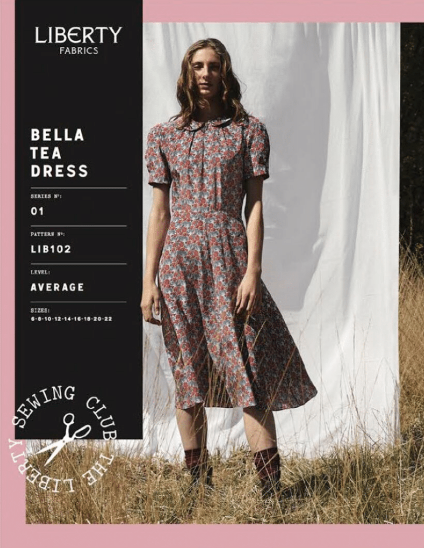 Liberty London Bella Tea Dress