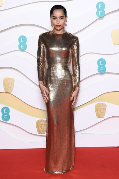 Zoe Kravitz BAFTAs 2020