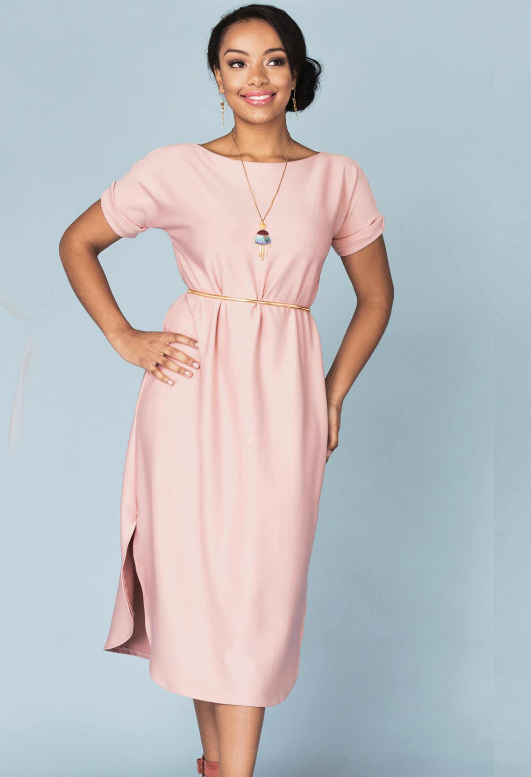 Our-Lady-Of-Leisure-Lemon -Drop-Dress-Top-Lockdown-Sewing