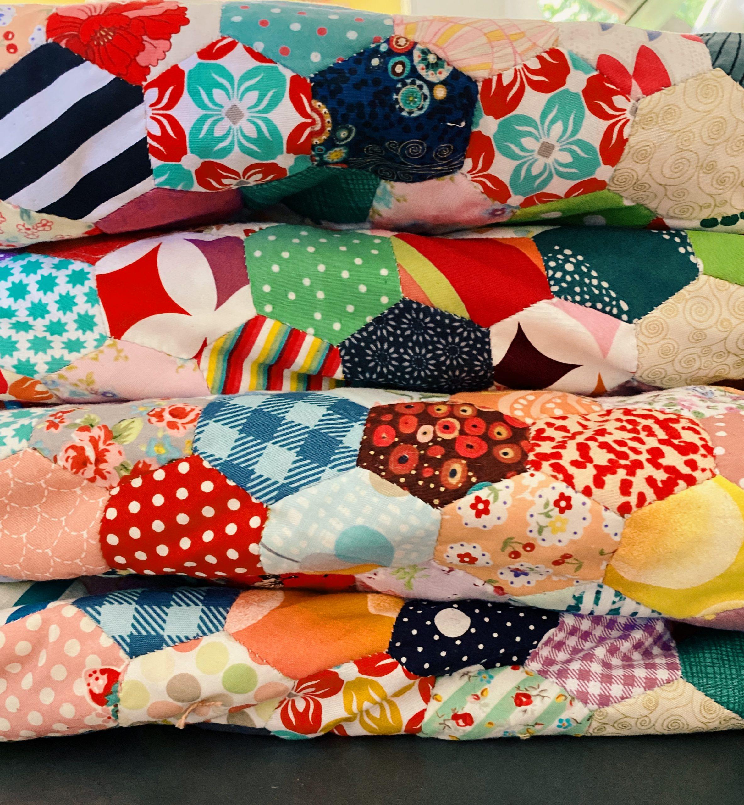 EPP-Scrap-Quilt-Hand-Sewn-Quilts