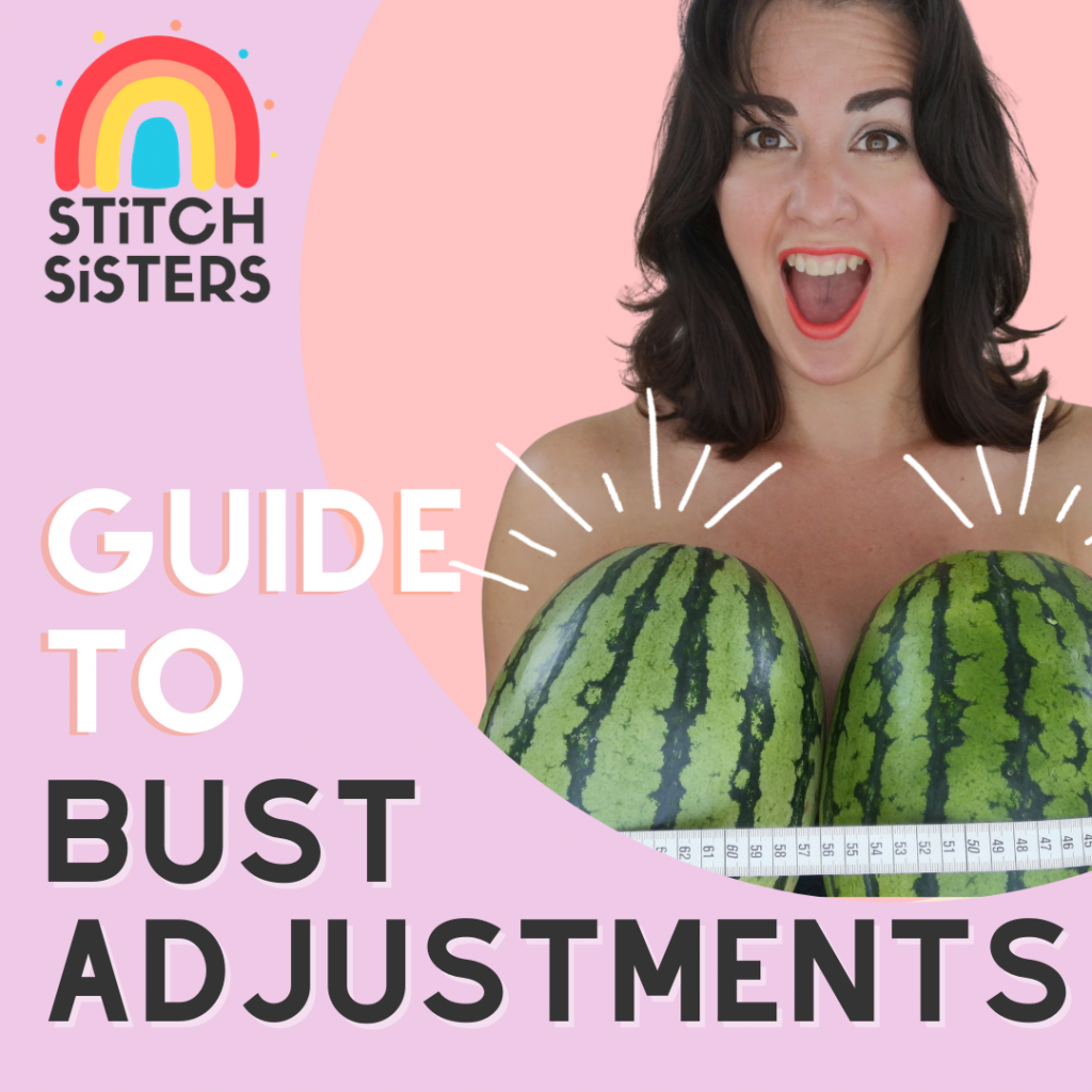 guide to bust adjustments