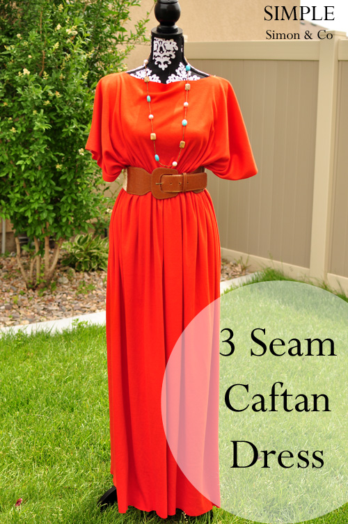 Simple-Simon-Caftan-Free-Dress-Sewing-Patterns